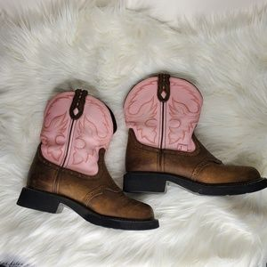 Justin Gypsy Short Leather Boots